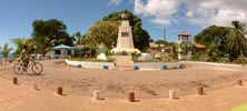 Panorama of the place Joffre, Diego Suarez, Madagascar