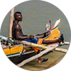 Photos of Vezo fishermen of Morondava