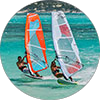 Photos of Kitesurf and windsurf in Babaomby in the Emerald Sea, Diego Suarez (Antsiranana), Madagascar